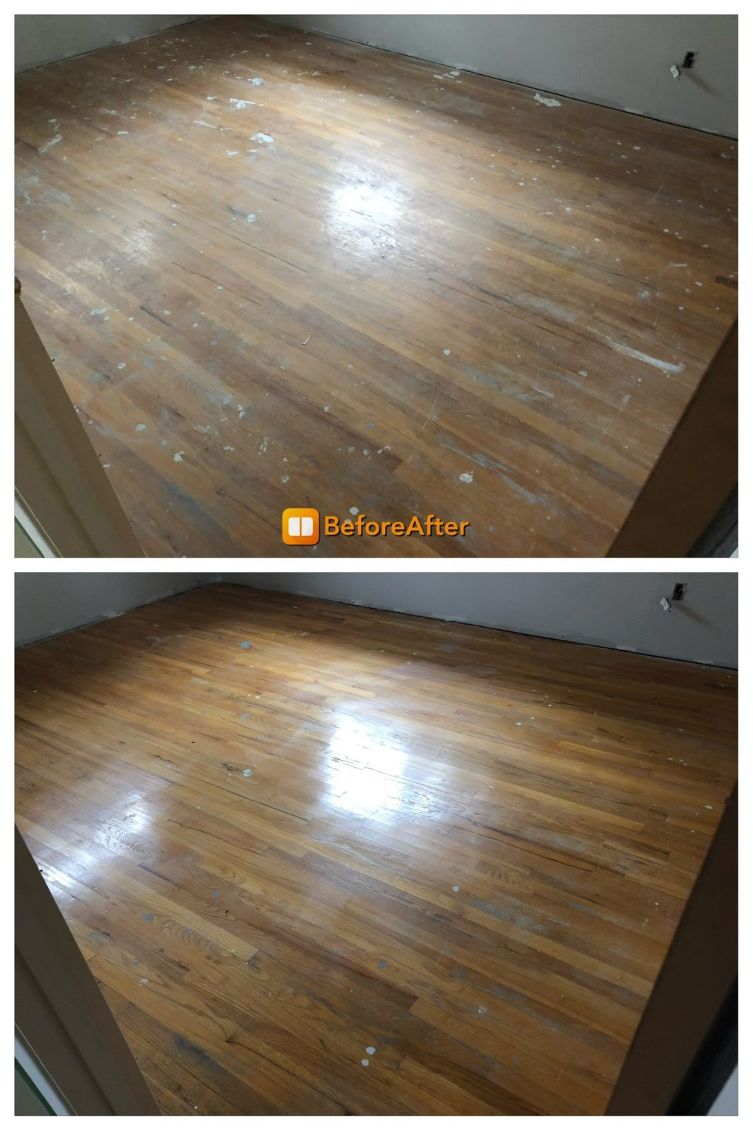 Professional Hardwood Floor Cleaning Amberley Ohio by Howards Cleaning Service