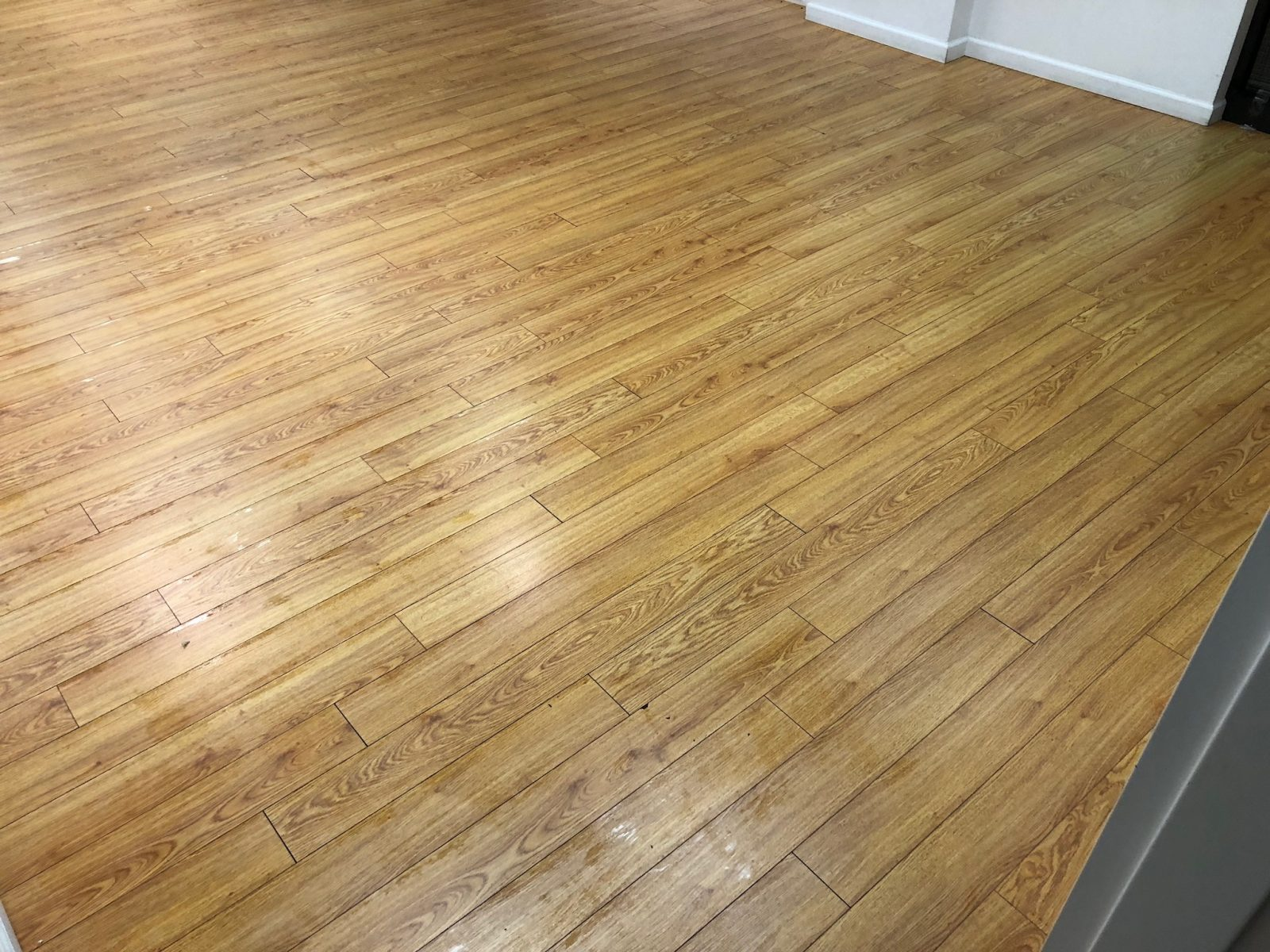 Professional Hardwood Floor Cleaning Loveland Ohio by Howards Cleaning Service