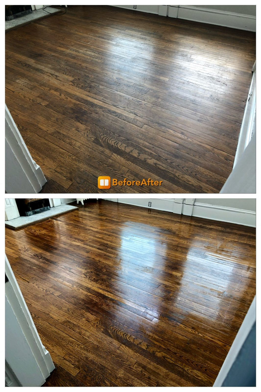 Professional Hardwood Floor Cleaning Mason Ohio by Howards Cleaning Service
