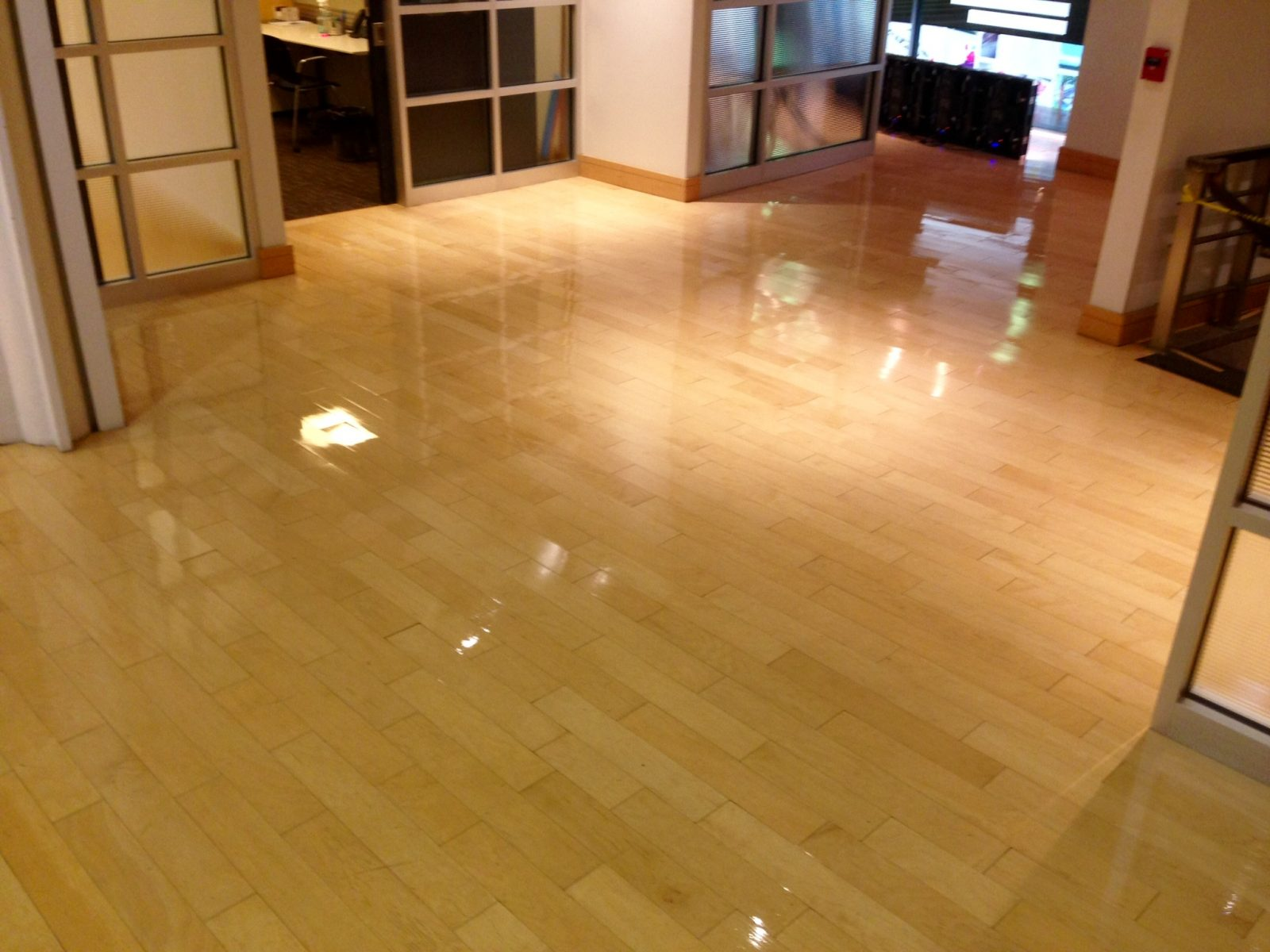 Professional Hardwood Floor Cleaning Montgomery Ohio by Howards Cleaning Service