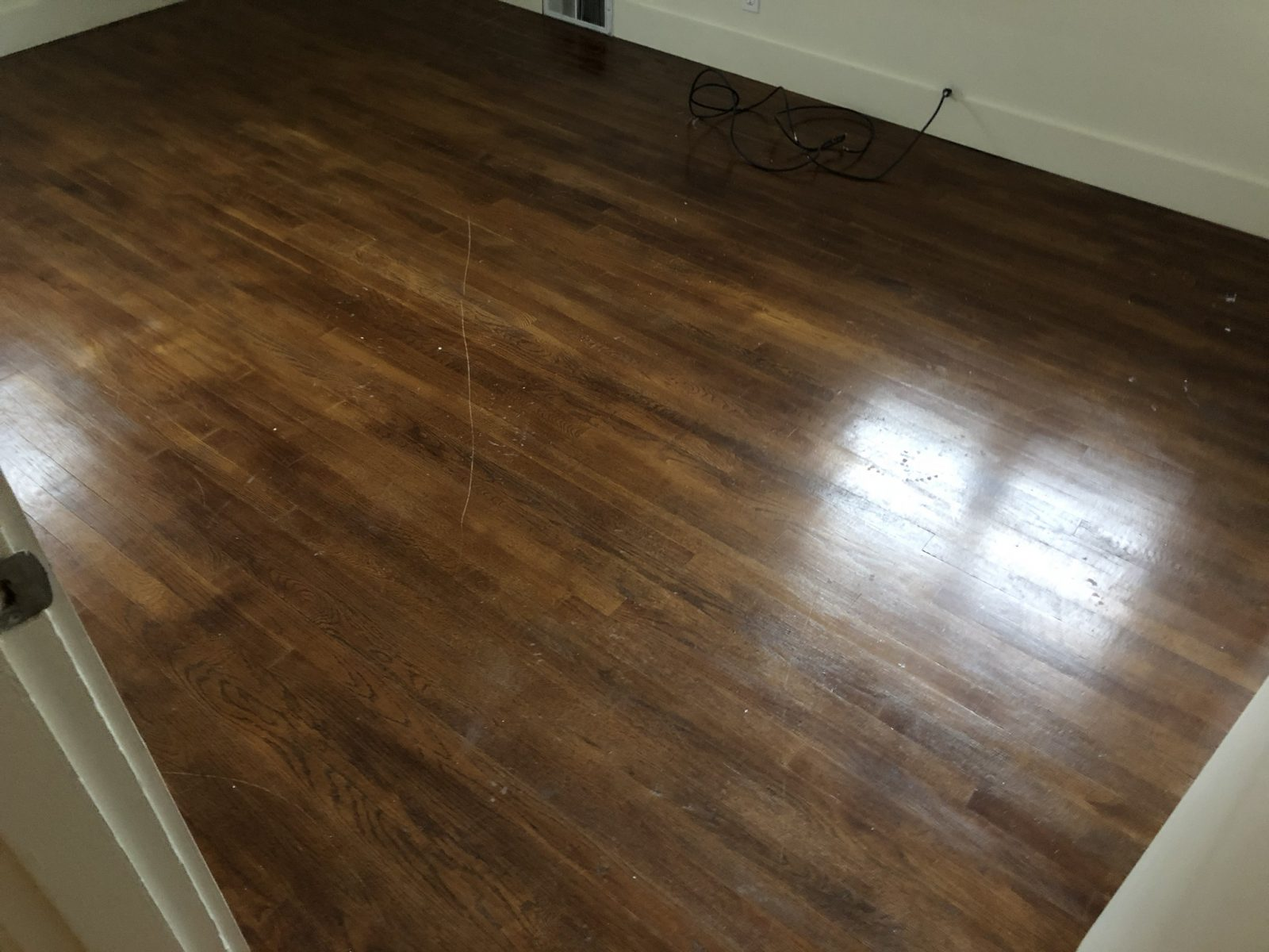 Professional Hardwood Floor Cleaning Morrow Ohio by Howards Cleaning Service
