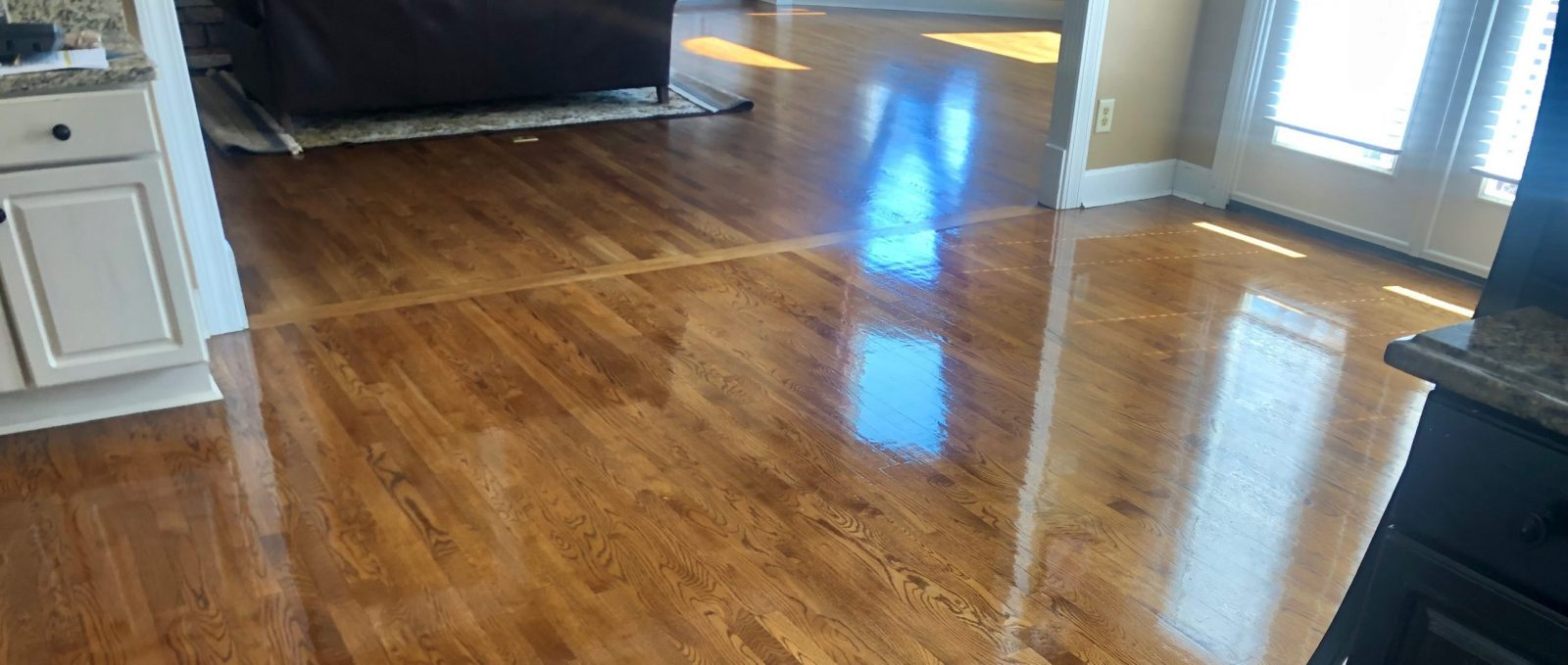Professional Hardwood Floor Cleaning Anderson Ohio by Howards Cleaning Service