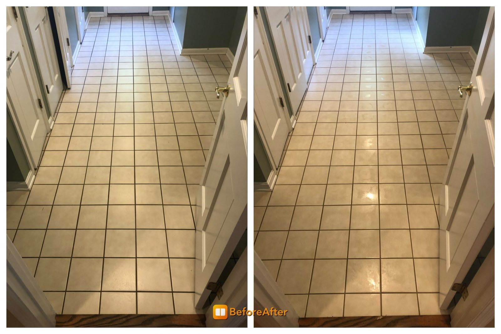Professional Tile & Grout Cleaning Anderson Ohio by Howards Cleaning Service