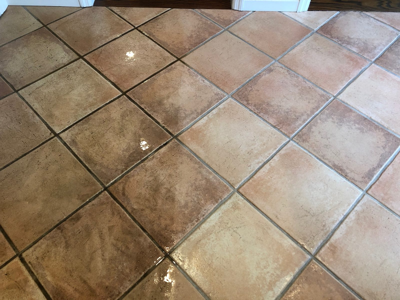 Professional Tile & Grout Cleaning Blue Ash Ohio by Howards Cleaning Service