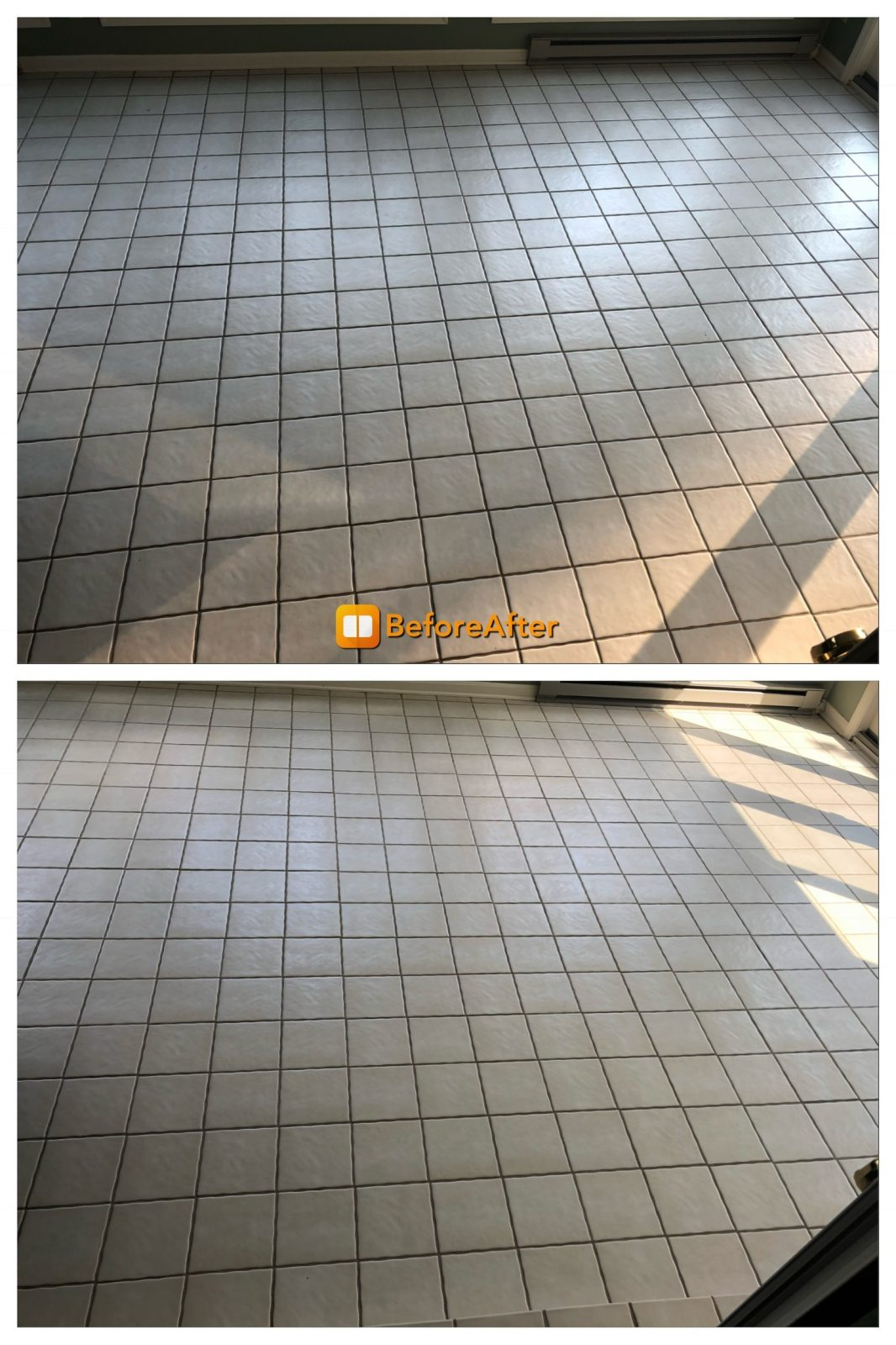 Professional Tile & Grout Cleaning Cincinnati Ohio by Howards Cleaning Service