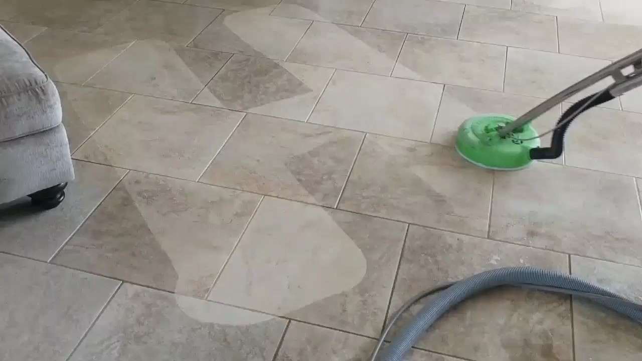 Professional Tile & Grout Cleaning New Port Richey Florida by Howards Cleaning Service