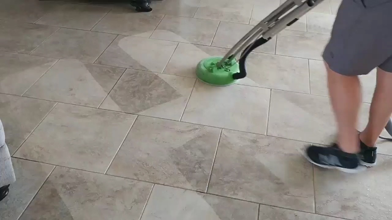 Professional Tile & Grout Cleaning Tarpon Springs Florida by Howards Cleaning Service