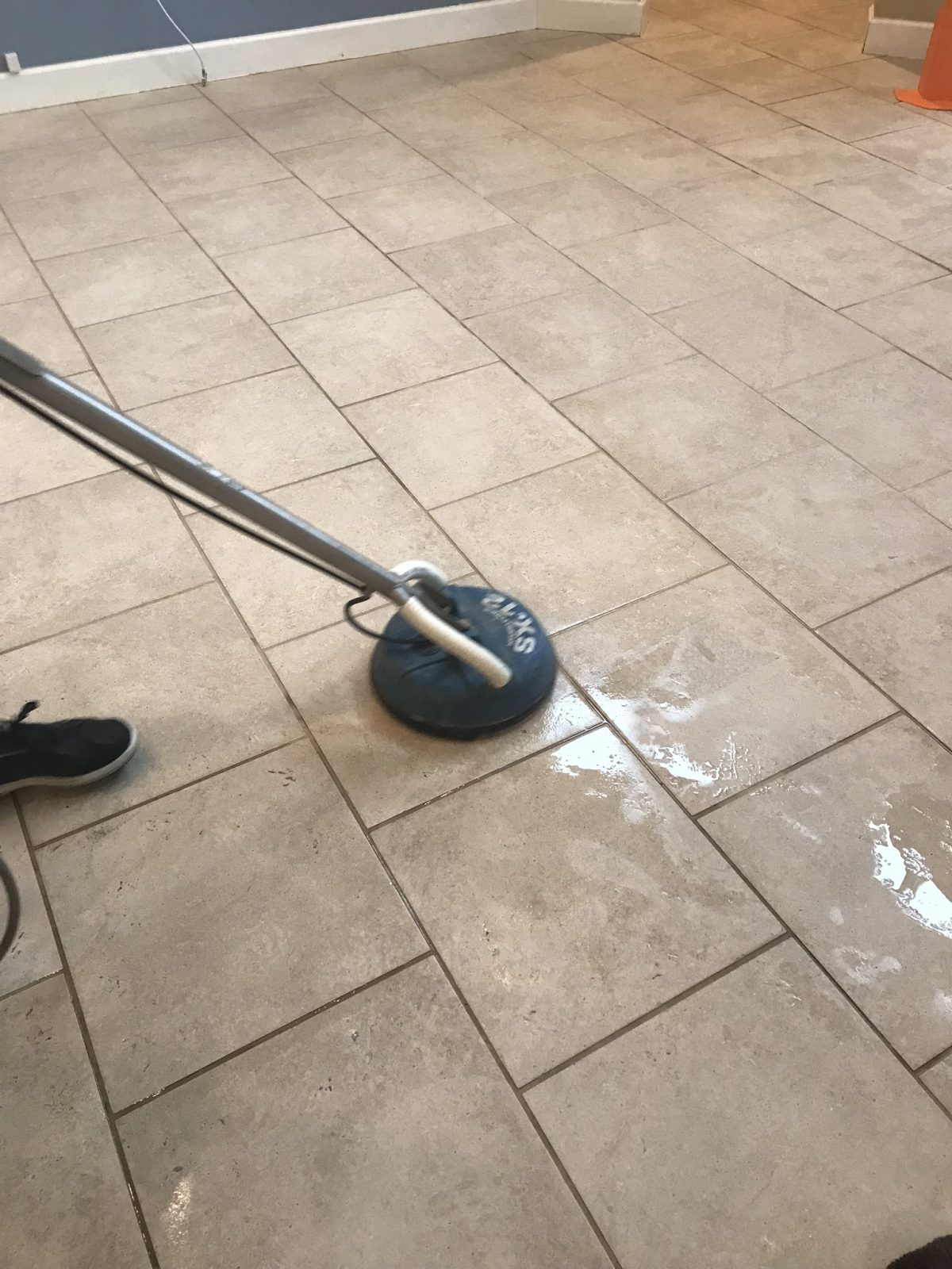 Professional Tile & Grout Cleaning Palm Harbor Florida by Howards Cleaning Service