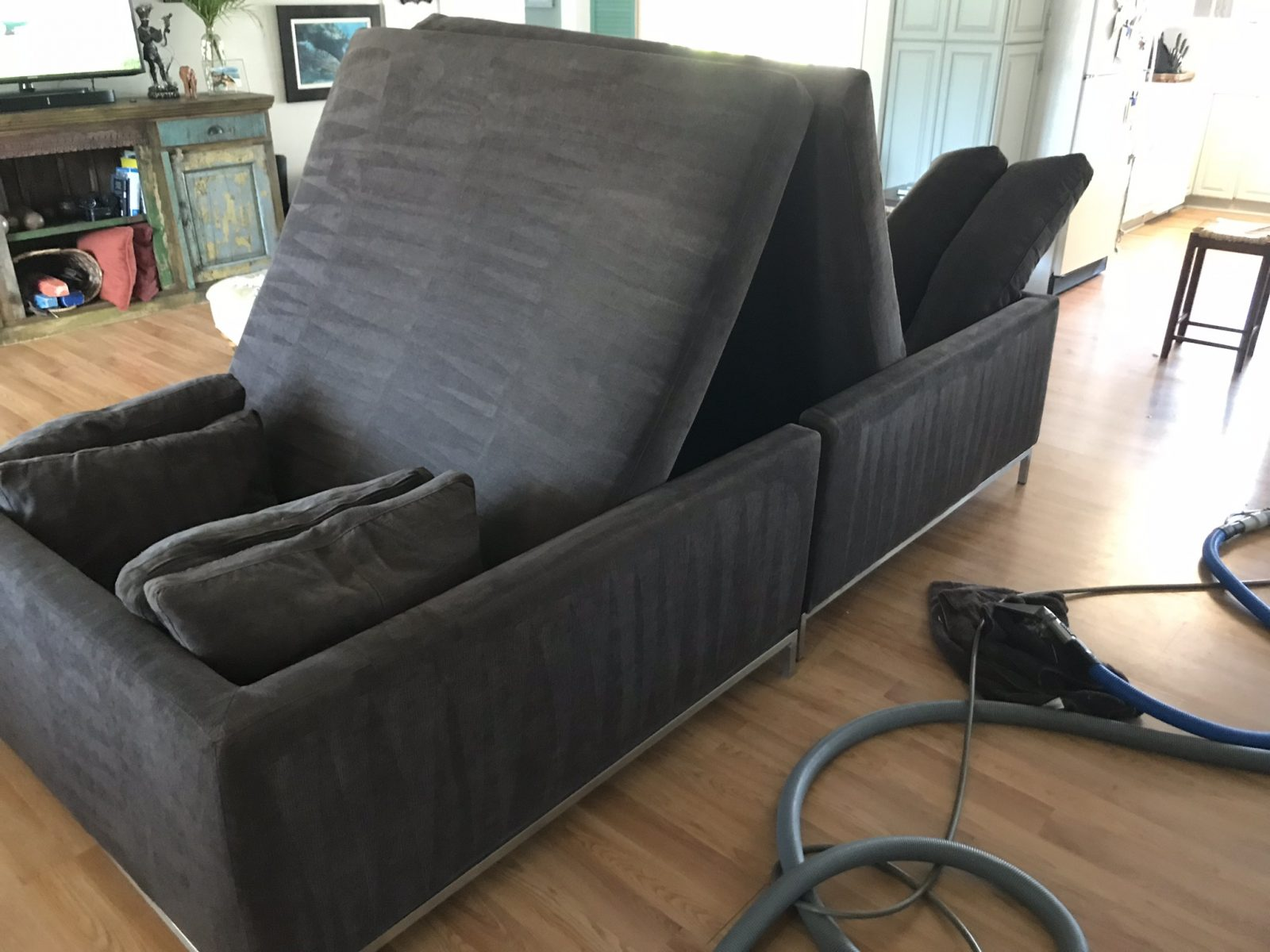 Professional Upholstery Cleaning Palm Harbor Florida by Howards Cleaning Service