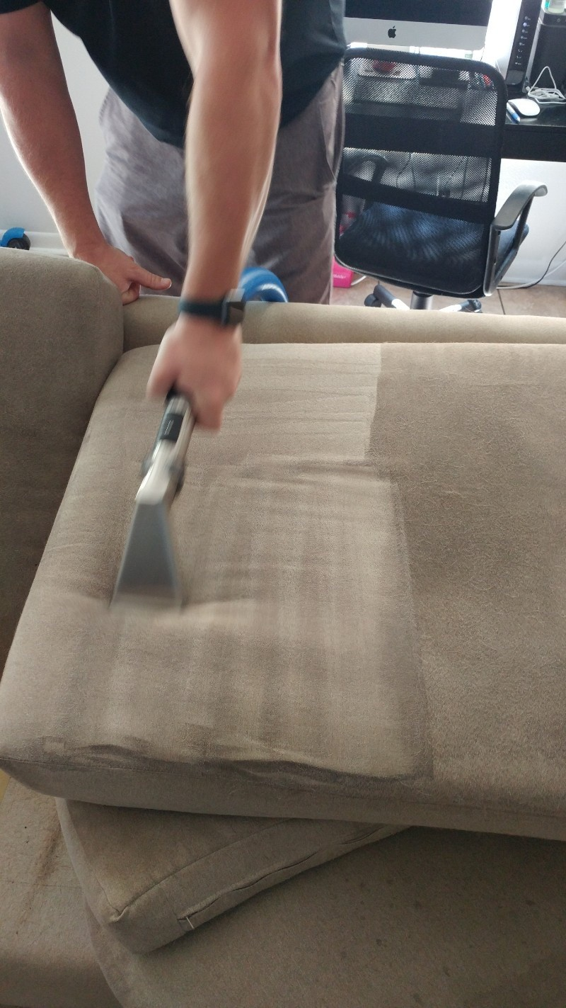 Professional Upholstery Cleaning Dunedin Florida by Howards Cleaning Service